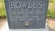 Ann <I>Bolton</I> Bowles