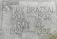 "Profile photo:  Royce M ""Roy"" Brazeal"
