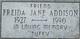 "Frieda Jane ""Aunt Cissy"" <I>Tincher</I> Addison"