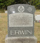 Fannie Maude <I>Froman</I> Erwin
