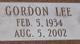 Gordon Lee Jorgensen
