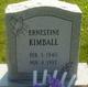 Ernestine E <I>Elrod</I> Kimball