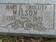 """Mary C """"Mollie"""" Wilson"""