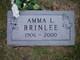 Profile photo:  Amma L <I>O'Neal</I> Brinlee