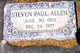 Steven Paul Allen