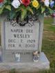 Naper Dee Wesley