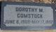 Dorothy M Comstock