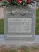 Emma T. <I>Randolph</I> Hendricks