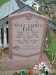 Willa Carmen Fife