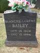 Blanche Lorene Bailey
