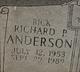 """Richard Patrick """"Rick"""" Anderson"""
