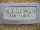 Addie Lee <I>McKissack</I> Wigley