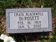 Crata Cotabelle <I>Blackwell</I> DeRosett