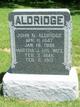 Profile photo:  John N Aldridge