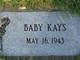 Profile photo:  Baby Kays