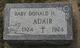 Donald H Adair