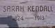 Sarah Jane <I>White</I> Kendall
