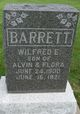 "Wilfred E ""Fred"" Barrett"