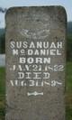 Susannah <I>Gilliam</I> McDaniel