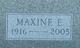 Maxine Ethelyn <I>Cook</I> Manson