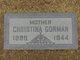 Christine Ollive <I>Stork</I> Gorman