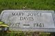Mary Joyce Davis