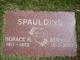 Horace H Spaulding