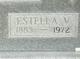 Profile photo:  Estella V Arnold
