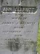 Profile photo:  Ann <I>Somervell</I> Allnutt