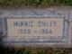 "Armina ""Minnie"" <I>Boughn</I> Smith"