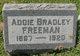 Profile photo:  Ada Lee <I>Bradley</I> Freeman