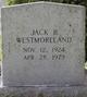 Jack Bernard Westmoreland