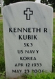 Profile photo:  Kenneth R. Kubik