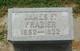 """James Franklin """"Frank"""" Frazier"""