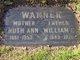 Ruth Ann <I>Worrell</I> Warner