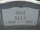 Profile photo:  Rose Allu