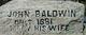 Mary <I>Bruen</I> Baldwin