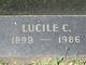 "Lucile ""Daisy"" <I>Carty</I> Cox"