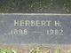 Herbert Hildreth Cox