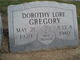 Dorothy Lore Gregory