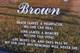 """Albert M. """"Junie"""" Brown"""