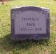 Frances <I>Griffing</I> Bain