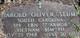 Harold Oliver Stump