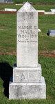 """Marjorie Ethel """"Margie"""" Hall"""