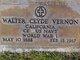 Walter Clyde Vernon