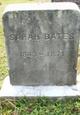 Profile photo:  Sarah H. Bates
