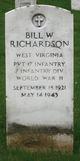 Profile photo: Pvt Bill W. Richardson