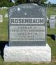 Adeline Wilhelmine <I>Werner</I> Rosenbaum