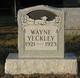 Wayne Yeckley