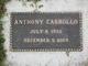 Profile photo:  Anthony Carrollo